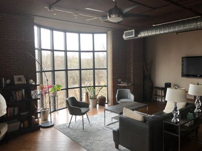 Photo for Luxury loft with skyline view in downtown Atlanta