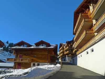 Photo for Apartment in Val-d'Illiez with Lift, Parking, Internet, Washing machine (36777)