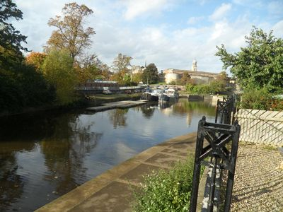 Photo for Riversmead City Centre Riverside Town House Sleeps 5 ,car parking , free wifi