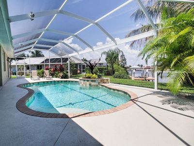 Photo for Canal Front Cape Coral House w/ Private Pool!