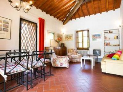 Photo for Villa La Pietra Grezza in Apartment The Lilac in villa 18km from Florence