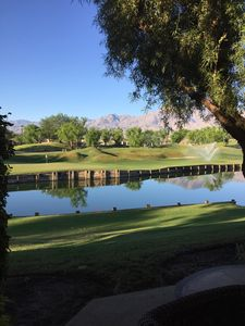 Photo for PGA West Stadium Course Located on the 13th hole green, amazing views!