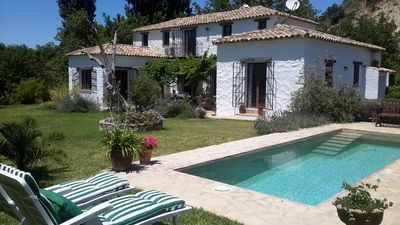 Photo for Stylishly converted finca in beautiful valley in the Grazalema Natural Park