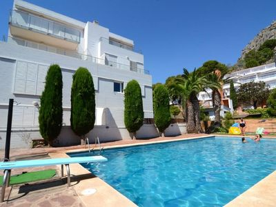 Photo for L'Estartit: 2 bedroom apartment + terrace 92 m² - Pool - 350 m beach