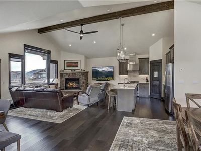 Photo for 4 bedroom luxury townhome in river run- private hot tub and walk to the lifts