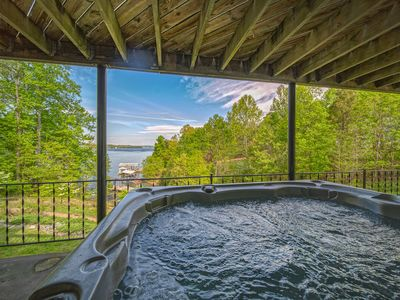 Photo for Buddys Bliss, Smith Mountain Lake, Pet friendly, hot-tub, wi-fi, beach, fireplace, pool table
