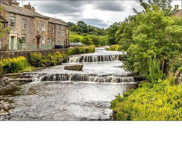 Photo for Cosy, traditional cottage overlooking waterfalls, Gayle, Hawes, Yorkshire Dales.