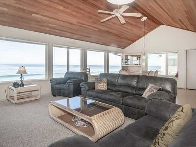 Photo for Spacious Oceanfront Elegance with Private Beach Access!