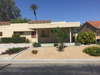 Photo for Beautiful remodeled 2 bedroom 2 bath condo in Palm Desert.