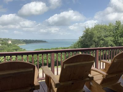Photo for Rivendell Lodge- Stunning Lake Views, Quick Walk to the Shoreline!