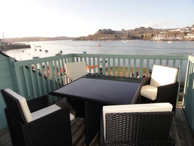 Photo for 4 bed spacious modern townhouse with spectacular views over the River Tamar.