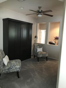 Den with Murphy bed