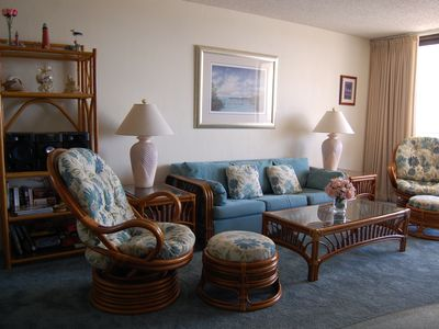 Photo for Sand Dollar Condominiums - Fully Furnished Oceanside Condo!