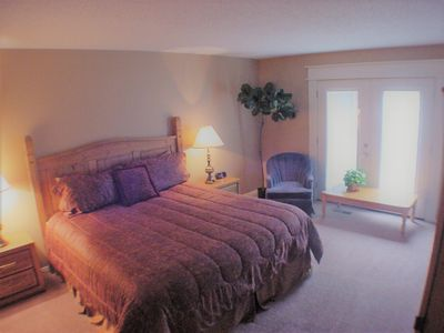 Second bedroom with King bed