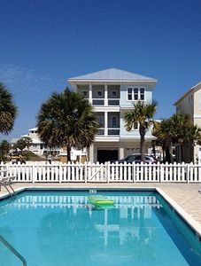 Photo for Stunning Designer Waterfront Home with Golf Cart!!