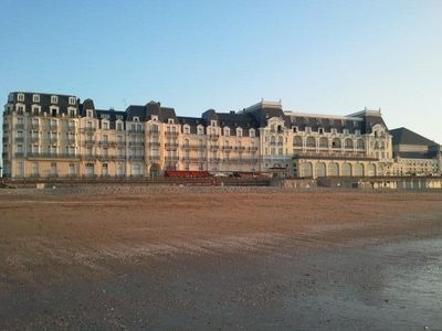 Photo for 2P.  bright and calm ds Resid. from the Gd hotel sea view +++ Direct access Beach