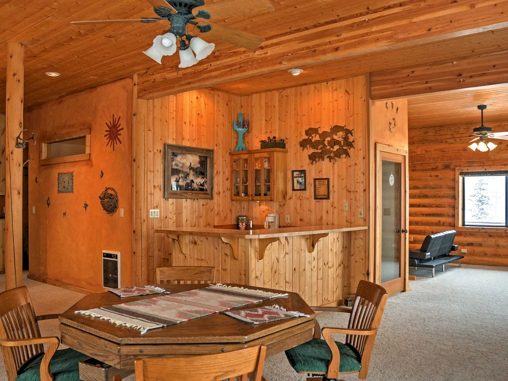 New 4br brian head cabin minutes from slopes brian head for Brian head ski resort cabin rental