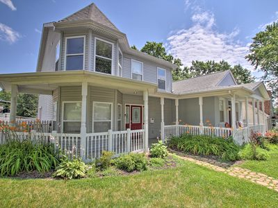 Photo for Hip Home w/ Patio in Central Historic St. Charles!