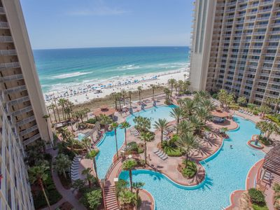 Photo for Beach Front Luxury! 2 Bedroom 3 bathroom with Separate Bunk Area! (Sleeps 8)