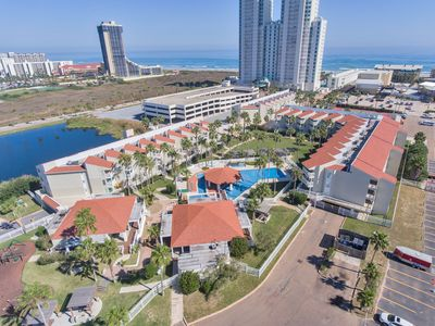 Condo close to the Beach! Budget & Family Friendly! Quiet Community with Incredible Pool!