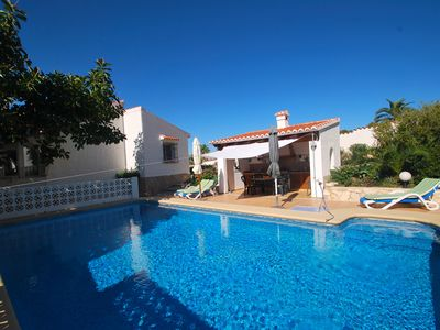 Photo for comfortable holiday house with seaview, private pool, summer kitchen