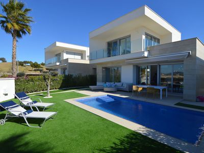Photo for Modern luxurious villa with private swimming pool near Vistabella Golf