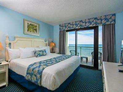 Oceanfront 2BR Condo Designed With You in Mind -Full Kitchen-Privacy-Big Balcony