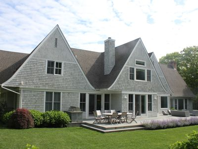 Photo for Beautiful home - 3 miles from Bridge, 3 miles to Sag Harbor, tennis