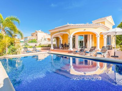 Photo for Villa Casanova - Ideal Location in Calpe, with Pool, Wi-Fi, A/C & BBQ
