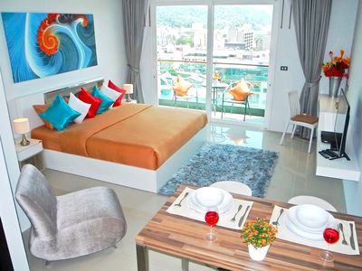 Photo for Trendy sea view studio in Patong !