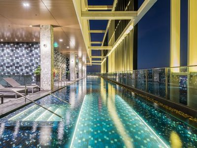 Photo for Brand New With Sky pool Close to Skytrain