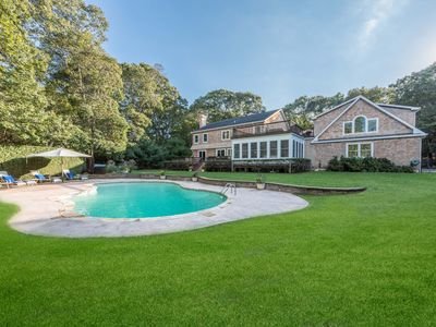 Photo for Stylish and Spacious Family Home  4,600 sq ft, 5 minutes from Sag Harbor Village