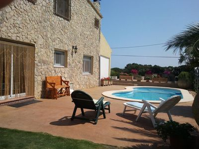 Photo for Apartment for 2-4 people in Blanes / twist in front of the Costa Brava