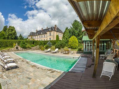 Photo for 6 bedroom Chateau, sleeps 10 with Pool and FREE WiFi