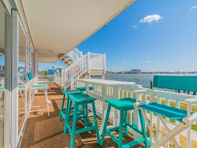 Photo for 28 Beach Place - 2BR 2BA Southern Bayfront Views with Pool & Boat Slip in OC MD