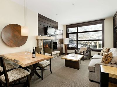 Photo for Heart of Snowmass Village. A/C, Outdoor Hot Tub, Free Parking, Elevator, Balcony, Washer/Dryer.