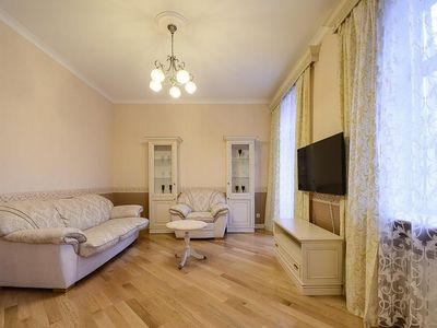 Photo for Apartment 53 m from the center of Kiev with Internet, Air conditioning (687558)