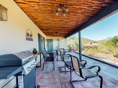 Photo for Dog-friendly, Cave Creek home w/ covered patio, private hot tub, mountain views