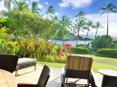 Photo for Relaxed Cancellation Policy - Ground Floor Residence Steps to Kapalua Bay Beach!
