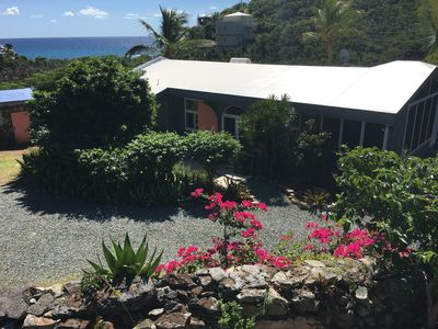 Photo for Pura Vida:  Privacy & Seclusion - 1.5 Acres In Chocolate Hole - Great Ocean View