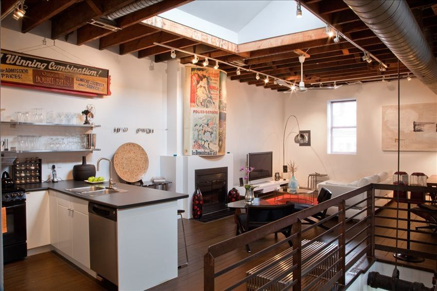 Gorgeous Fully Furnished Loft: Spectacular Loft designed with the ...