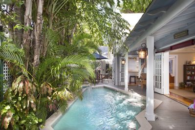 Your private heated pool awaits