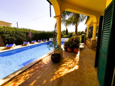 Photo for Villa do Sol, 4 Bedrooms, Private Swimming Pool, Near Beach and Golf Courses