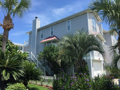 Photo for Seabreeze on Tybee-Ocean Views On Back Decks, Only Steps to North Beach, Hot Tub
