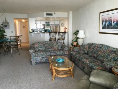Photo for Direct Oceanfront overlooking pool, Daytona Beach Shores
