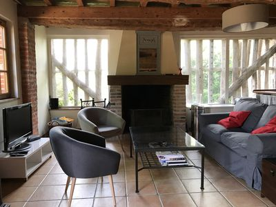 Photo for The farmhouse: charming rental 10 minutes from the beaches of Cabourg - 120 m2