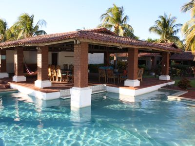 Photo for Casa Tortuga - Spanish Style Ocean Front Home - Pool, Surfing, Sea Turtles
