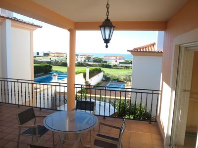 Photo for Luxury 3 Bedroom Villa fantastic sea and golf view, with pool