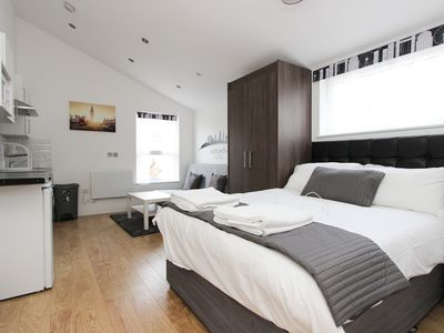 Photo for Large Renovated Studio Sleeps 4 in NW London TR3