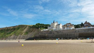 Photo for Private access to the sea in Arromanches les Bains (14) praises charming F1